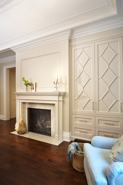 Master Bedroom Fireplace master bedroom fireplace - traditional - bedroom - toronto -
