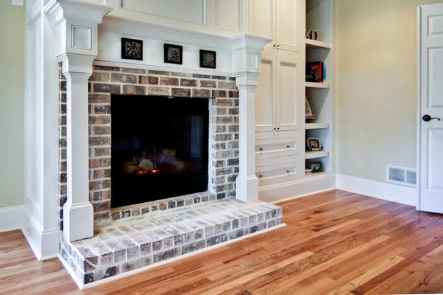Master Bedroom Fireplace Traditional Bedroom Atlanta
