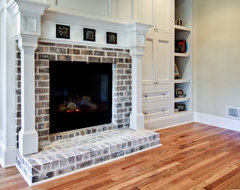Master Bedroom Fireplace traditional-bedroom