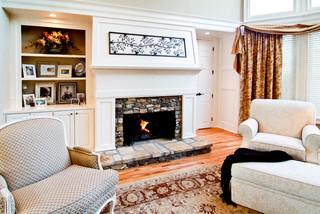 Master Bedroom Fireplace Traditional Bedroom Atlanta By Keri Morel De