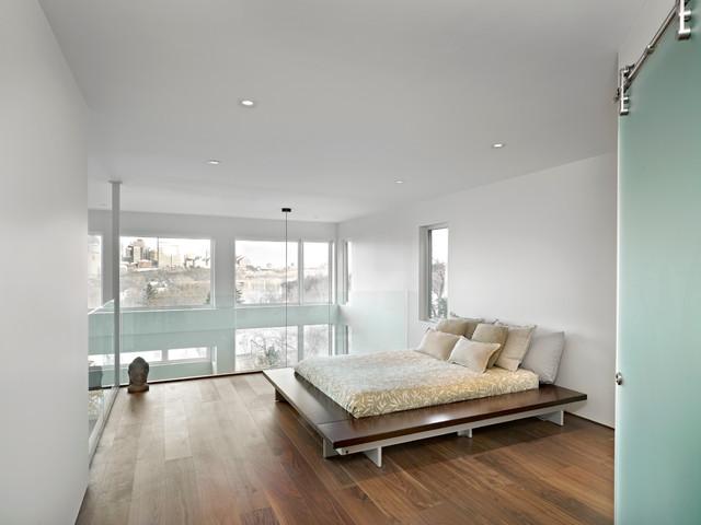 Master Bedroom Modern Bedroom Edmonton By Habitat