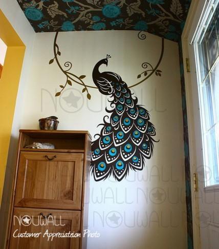 Buat Testing Doang Peacock Bedroom Decor
