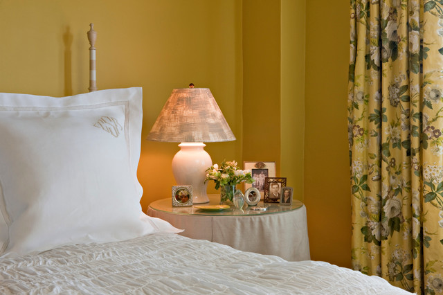 Master Bedroom In Cheerful Yellow Shabby Chic Style Bedroom Dc