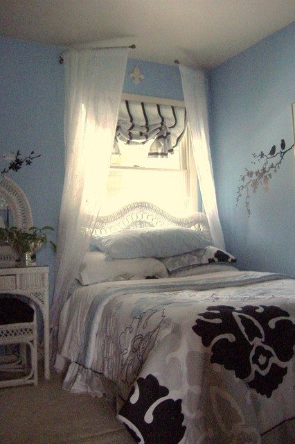 master bedroom in daylight shabby chic style bedroom
