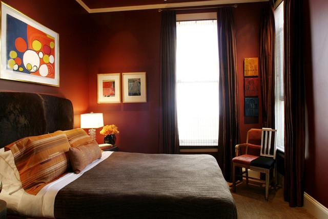 Master Bedroom In Modern Victorian Modern Bedroom