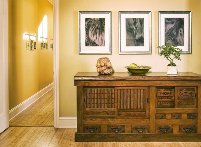 Master Bedroom in Sonoma Residence asian-bedroom