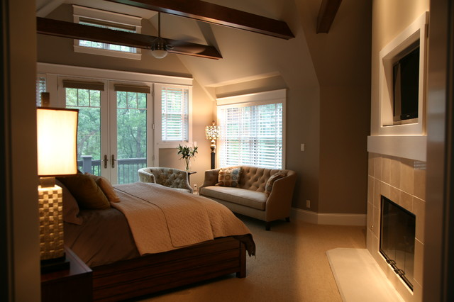Master bedroom traditional bedroom milwaukee by for Traditional master bedroom designs