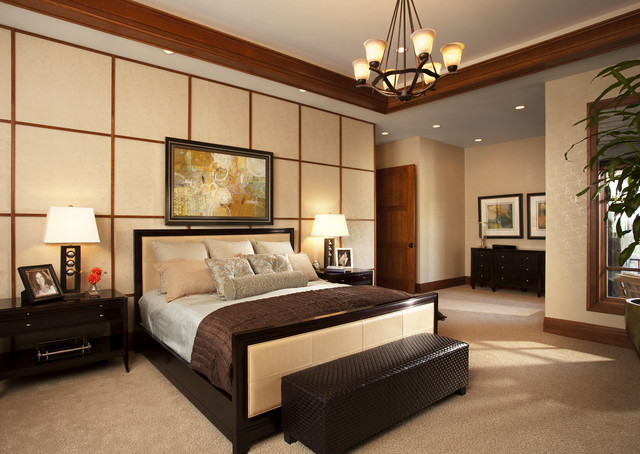 Master bedroom modern bedroom salt lake city by for Custom bedroom designs