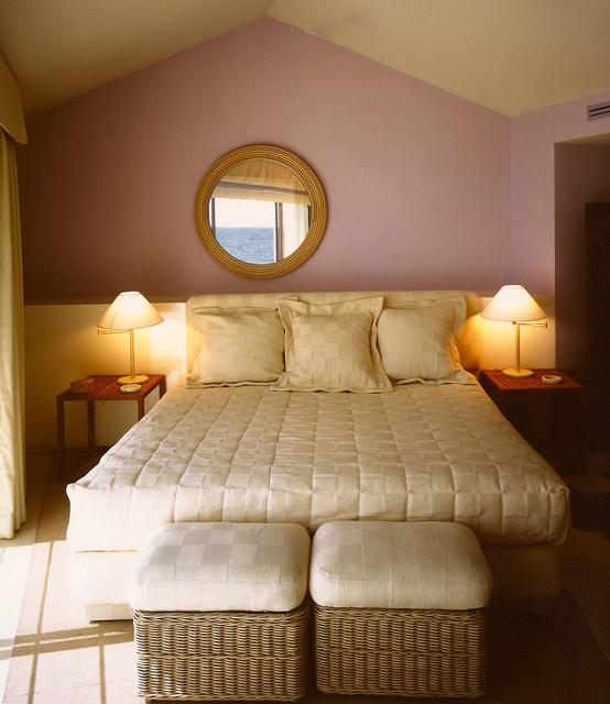 Master bedroom. tropical-bedroom