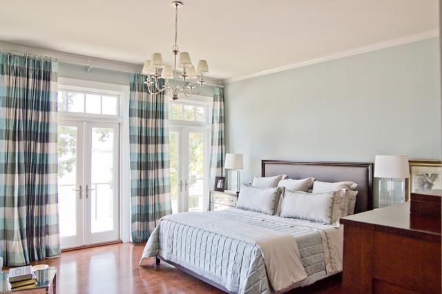 Shingle Style House traditional-bedroom