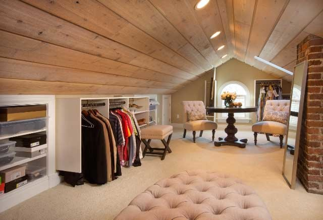 Master bedroom loft closet modern bedroom columbus by dixon designs llc Master bedroom with loft area