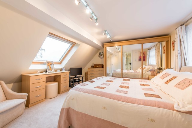Master Bedroom Loft Conversion Contemporary Bedroom Other By Econoloft