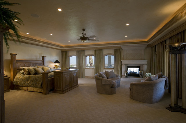 Master bedroom traditional bedroom las vegas by for Traditional master bedroom designs