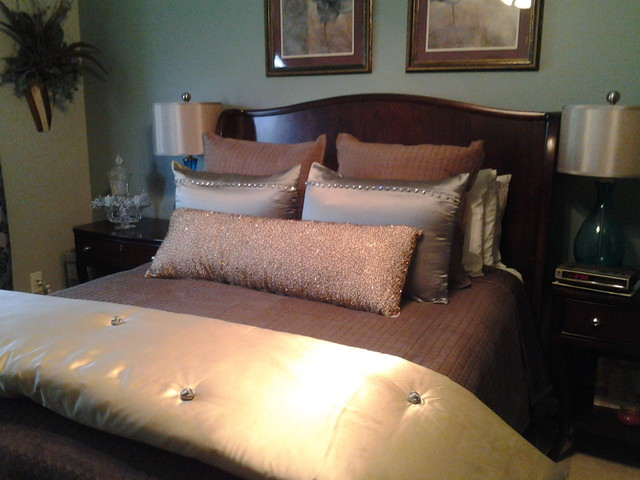 Master Bedroom Makeover from Nice to Special Retreat traditional-bedroom
