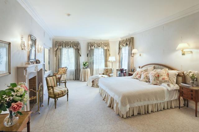 Master Bedroom, Mansion, Old Greenwich, New York ...