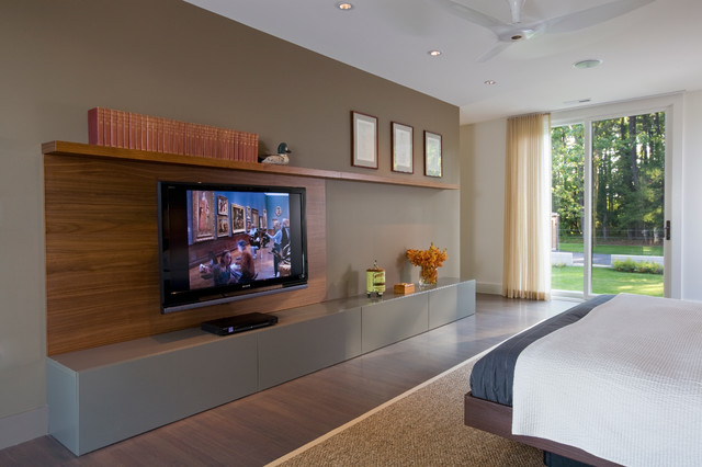 master bedroom media center contemporary bedroom other by