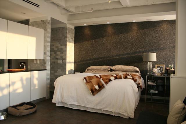 Master bedroom midtown loft renovation modern bedroom atlanta by sean key design Master bedroom reno ideas