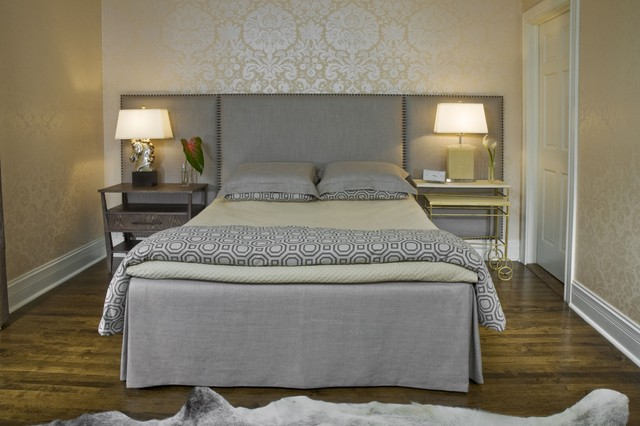 Master Bedroom Transitional Bedroom Chicago By Molly Mcginness Interior Design