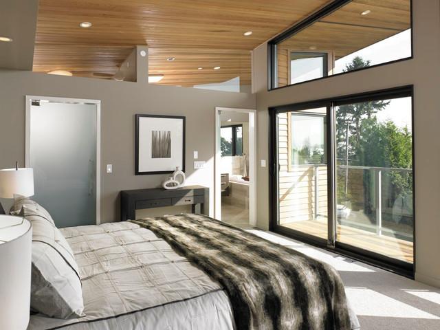 West Van Modern Tranquility modern-bedroom