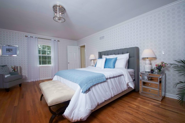Master Bedroom Transitional Bedroom New York By Nurzia Construction Corporation