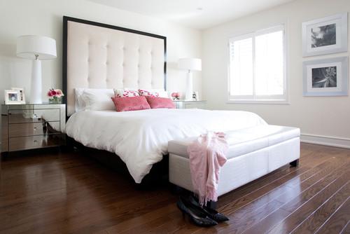 Master Bedroom/Office Suite contemporary bedroom