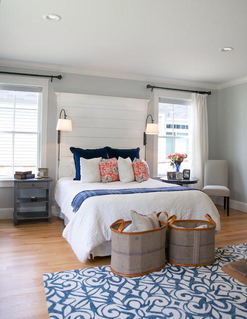 Master Bedroom Office Suite Transitional Bedroom