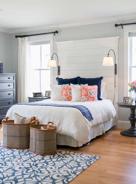 Master Bedroom Office Suite - Beach Style - Bedroom - Portland Maine ...