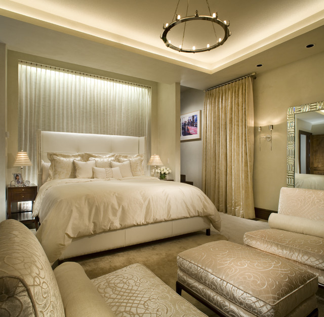 Master bedroom contemporary bedroom other metro by Model home master bedroom decor
