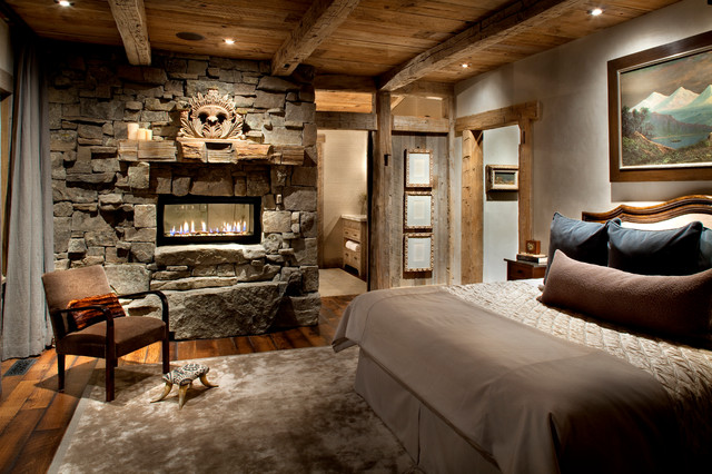 Master bedroom rustic bedroom other metro by peace design Master bedroom ideas houzz