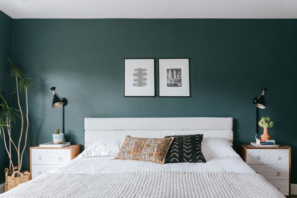 Large trendy master bedroom photo in San Francisco