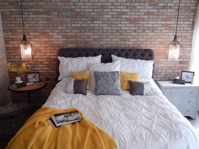 master bedroom remodel - industrial - bedroom -vip interior design