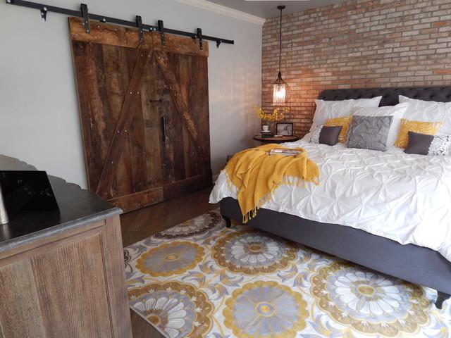 Master Bedroom Remodel Industrial Bedroom By Vip Interior Design