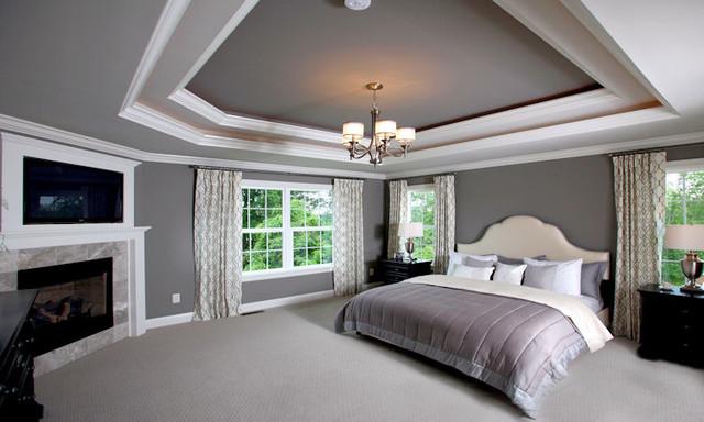 Master bedroom retreat contemporary bedroom other by instyle interiors - Master bedroom retreat decorating ideas ...