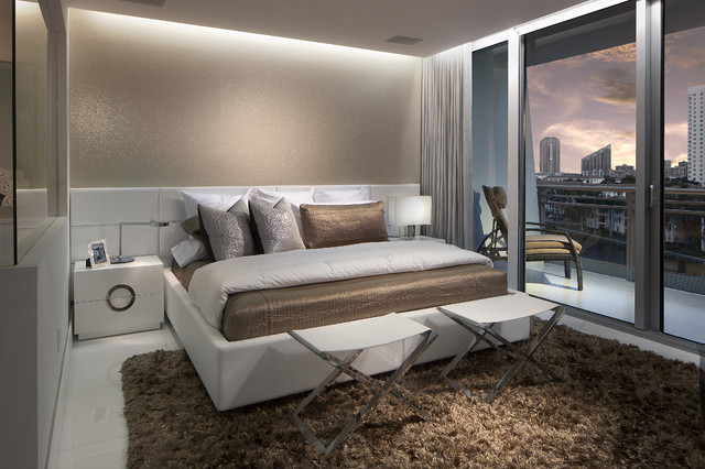 Master bedroom contemporary bedroom miami by rs3 designs Master bedroom ideas houzz