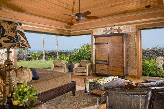 Master Bedroom Tropical Bedroom Hawaii By Saint