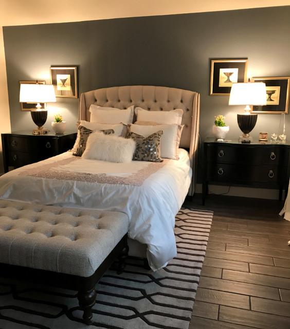 Master Bedroom トランジショナル-ベッドルーム