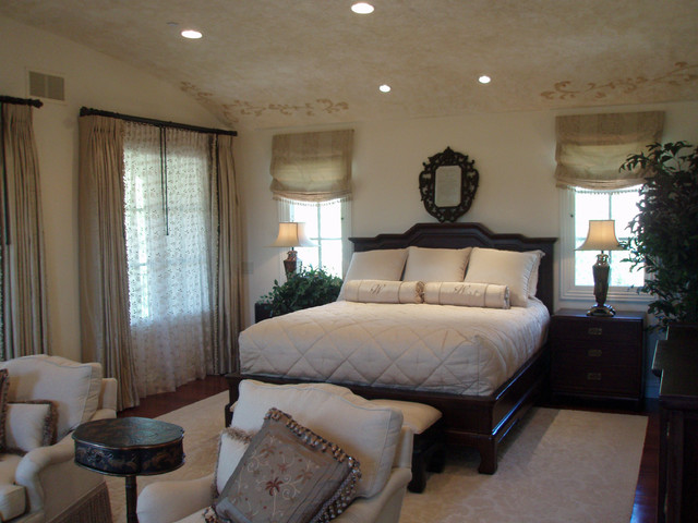 Master Bedroom Shady Canyon Irvine CA traditional-bedroom