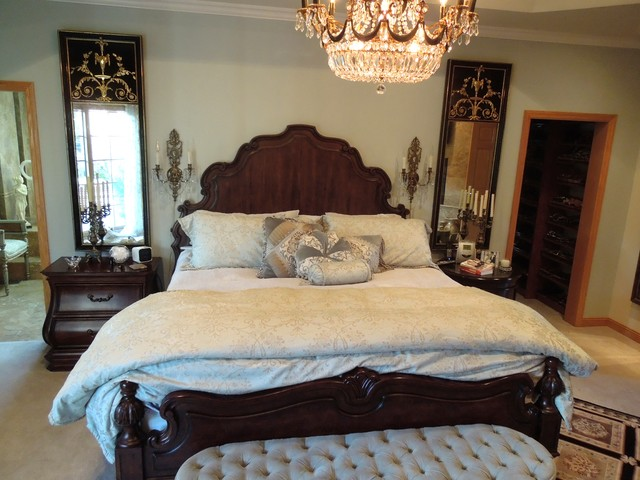 Master bedroom mediterranean bedroom chicago by for Mediterranean master bedroom