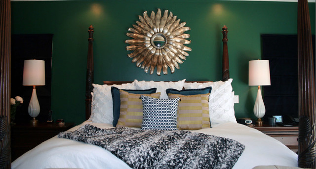 Master Bedroom Stately Modern Style Transitional Bedroom