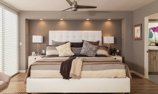 Master bedroom suite - Contemporaneo - Camera da Letto - Los Angeles ...