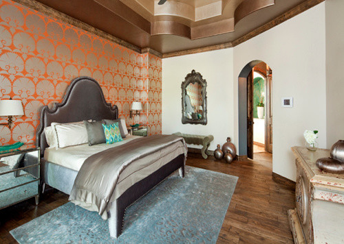 Master bedroom suite eclectic bedroom austin by for Eclectic master bedroom ideas