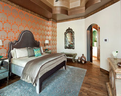 Master Bedroom Suite eclectic bedroom