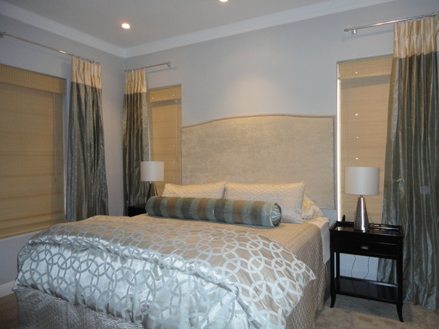 Master Bedroom Suite Retreat Contemporary Bedroom Phoenix By S Interior Design