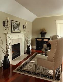 Master Bedroom Suite Sitting Area Traditional Bedroom Atlanta By Shar