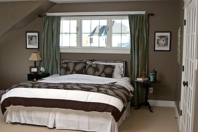 Master bedroom craftsman bedroom indianapolis by for Craftsman bedroom ideas