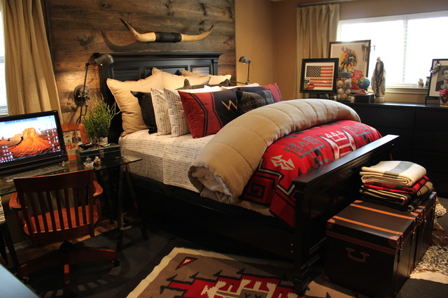 eclectic bedroom by The Cavender Diary