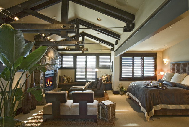 Glenwild Residence - Master rustic-bedroom