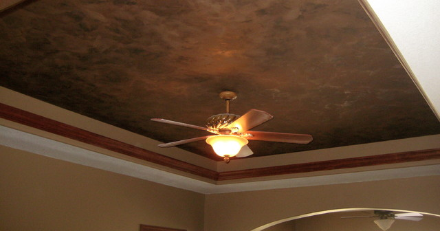 Master Bedroom Tray Ceiling - Italian Finishes - Bella Faux Finishes traditional-bedroom