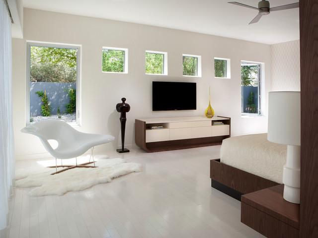 master bedroom tv contemporary bedroom phoenix by angelica