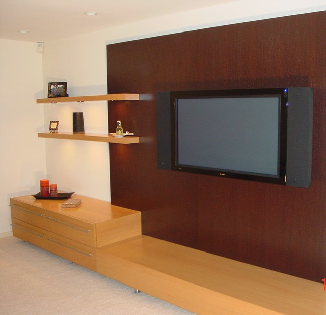 Master Bedroom TV Unit Modern Bedroom